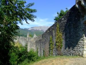 Le mura della fortezza