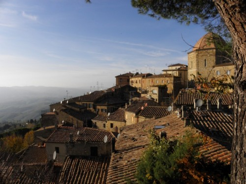 Volterra - Volterra vista dai Tetti