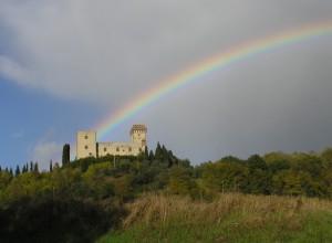 Torre del Castellano dopo il temporale
