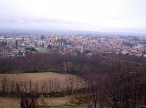 panorama su Borgomanero