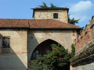 l'interno del castello semplice e quasi timido