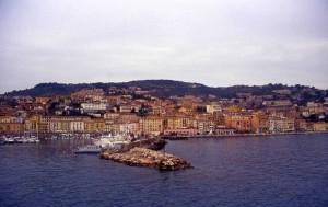Porto Santo Stefano dal traghetto