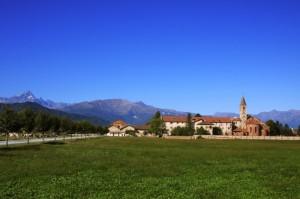 Staffarda: l'Abbazia ed il Viso