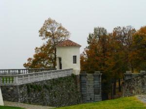 Autunno inoltrato al  Castello di Masino