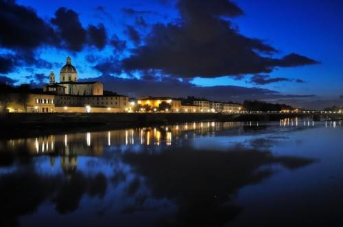 Firenze - Lungarno di sera