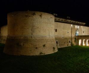 Rocca Costanza …….notturno