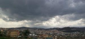 Campobasso sotto un cielo di piombo…