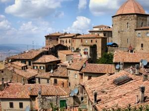 I tetti di Volterra