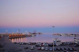 Tramonto al porto di Termoli