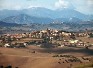 Montefano…visto da lontano