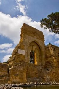 Le rovine del castello di Mazara 2