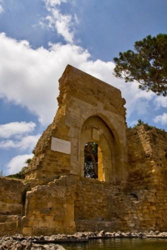 Mazara del Vallo - Le rovine del castello di Mazara 2