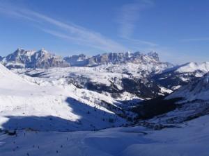 Le dolomiti sopra Cortina