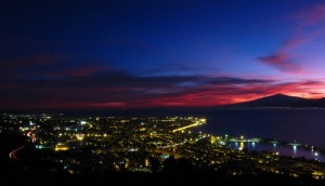 Reggio Calabria al tramonto