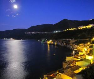 Scilla (RC) La Chianalea al chiaro di luna