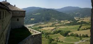 La Valle del Ceno vista dal Castello.