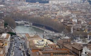 Panorama di Roma 3