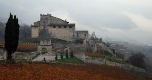 Castel Noarna  (Come è dura pedalare…)