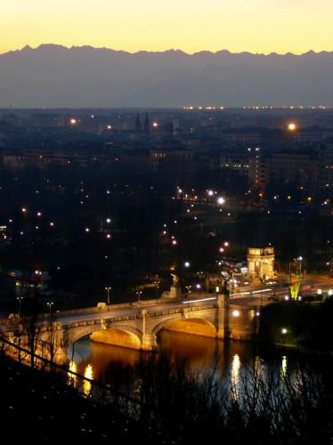 Torino - TRAMONTO INOLTRATO