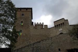 Castello … (quasi) sotto la pioggia