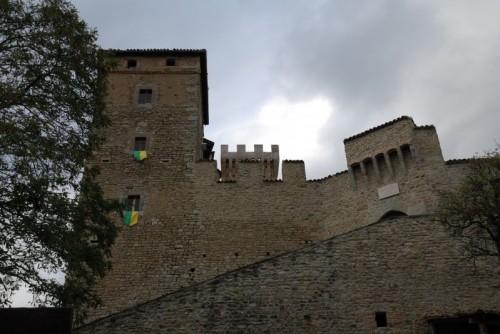 Pavullo nel Frignano - Castello ... (quasi) sotto la pioggia