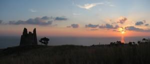 .Capo Suvero al tramonto.