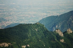 Il Cimone e la Pianura Veneta - Vista dal Campomolon