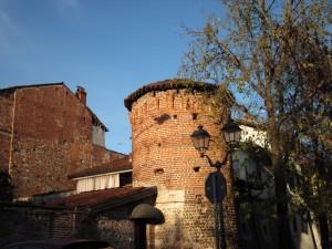 torre sud ovest del ricetto di Ghemme