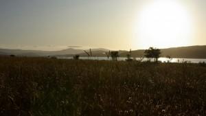 .Lago Cecita al Tramonto.