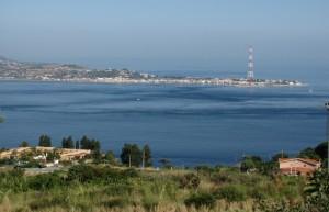 Lo Stretto di Messina da Cannitello