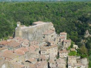 Il castello di Sorano