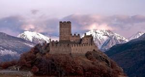 Castello di Cly prima della sera