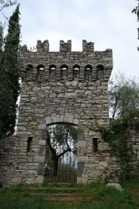 Un ingresso al castello