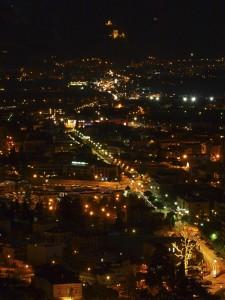 riva-arco di notte