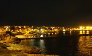 Lungomare di notte