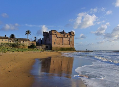 Santa Marinella - Riflessi in spiaggia