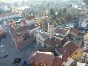 il castello dal campanile di Favria