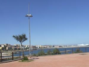 Città di porto torres con porto