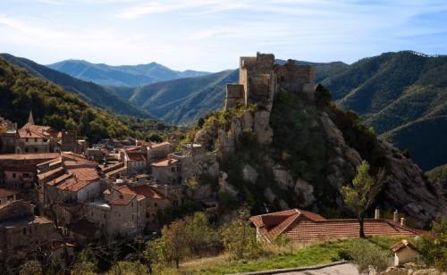 Castelvecchio di Rocca Barbena - Panoramica su Castelvecchio