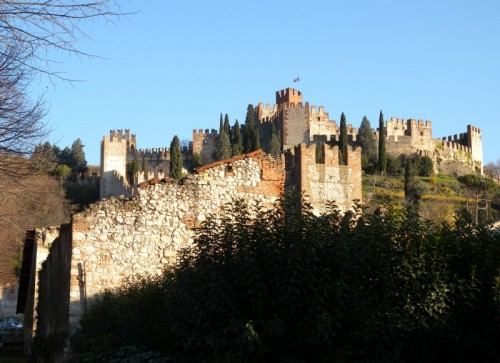 Soave - The castle....