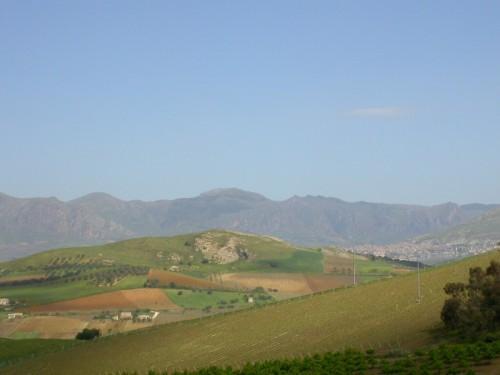 Piana degli Albanesi - colpo d'occhio