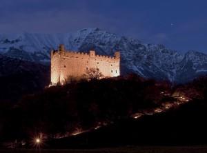 Castello di USSEL, notte