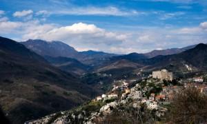 Castelvecchio di Rocca Barbena vista dall alto