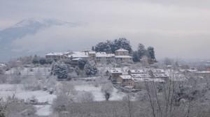 Lurago d'Erba - Calpuno con la neve