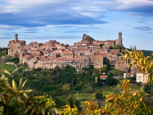 Roccastrada - Roccatederighi - Panoramica del paese