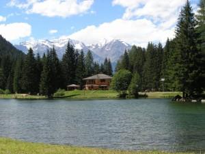 Il lago dei Caprioli.
