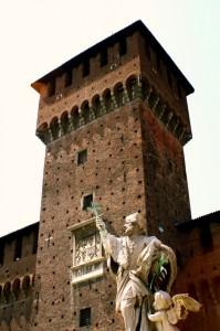 Una Torre del Castello Sforzesco