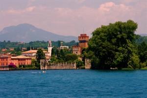 Lazise affacciata sul Lago di Garda