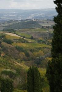 San Gimignano - Le sue colline
