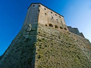 Il complesso della fortezza Orsini